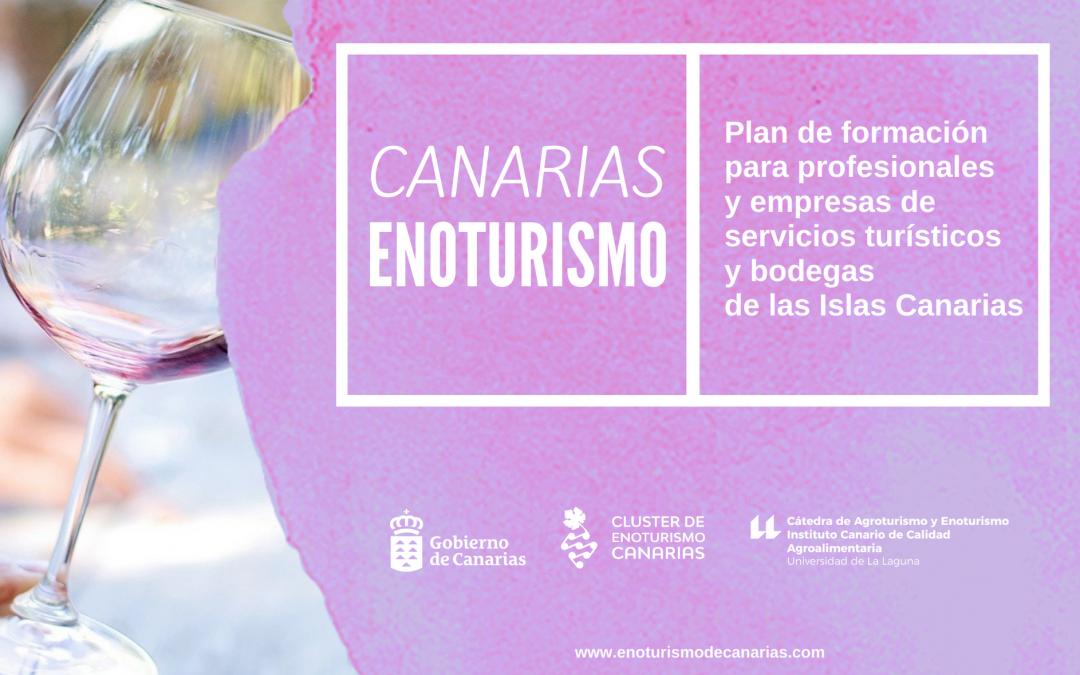 La Consejería de Turismo y el Clúster de Enoturismo de Canarias apuestan por la formación para profesionales y bodegas