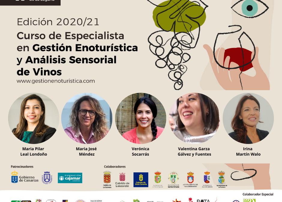 El enogastroturismo en clave femenina a debate en la Cátedra de Agroturismo de la Universidad de La Laguna