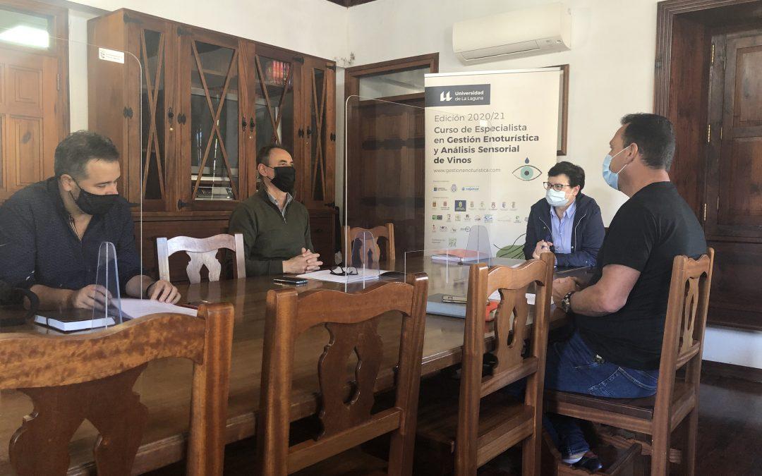 El Ayuntamiento de Tegueste y la Cátedra de Enoturismo de la ULL lanzan dos nuevos cursos de vinos
