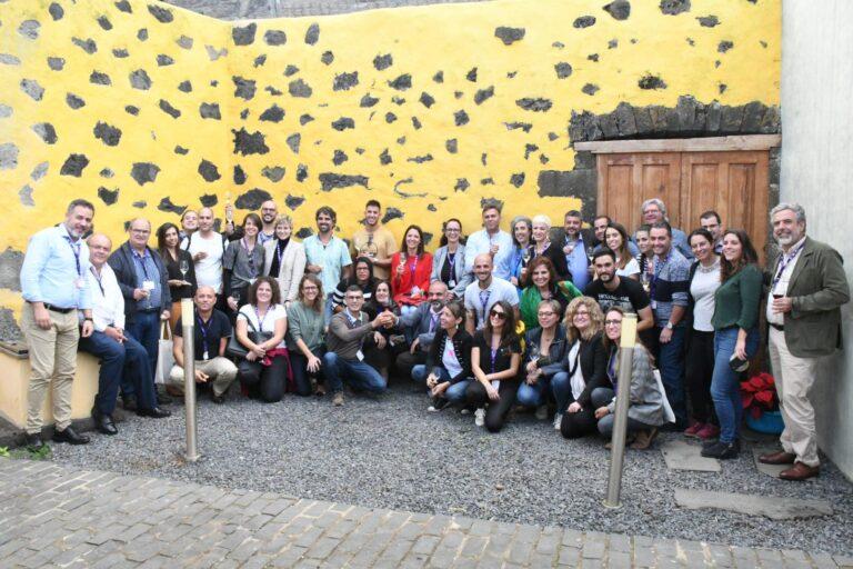 Participantes IV Encuentro AgroEnoturismo celebrado en El Hierro 2019