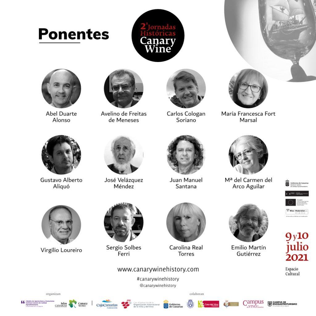 Presentado el programa de las 2as Jornadas Históricas Canary Wine