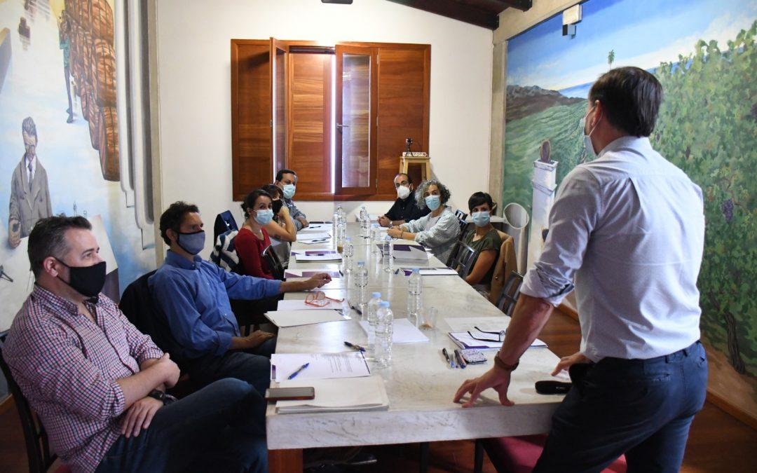 Primera reunión del Consejo de Dirección de la Cátedra de Agroturismo y Enoturismo de Canarias