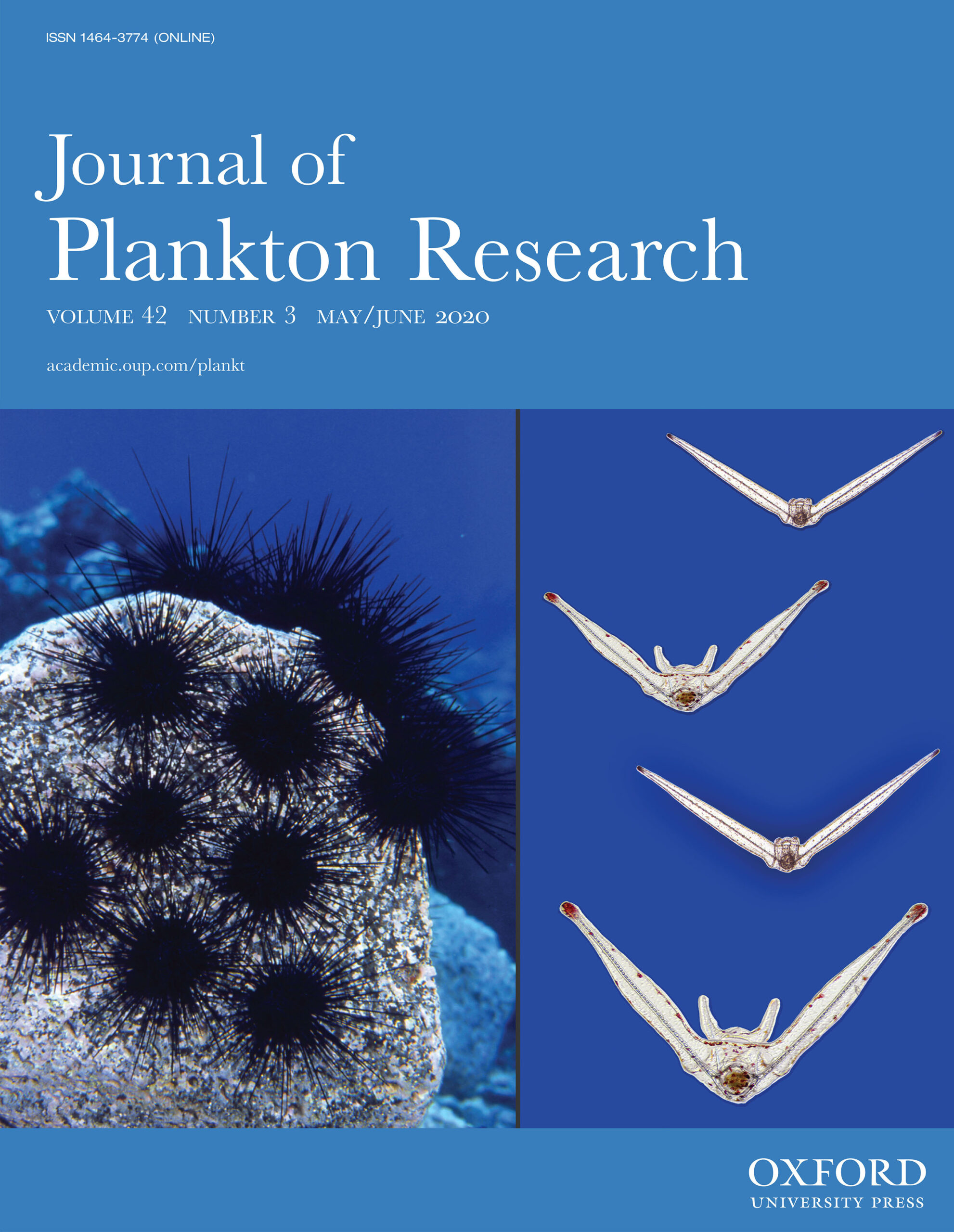 Cover of Journal of Plankton Research